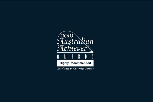 """""""Highly Recommended"""" for Excellence in Customer Service 2010"""