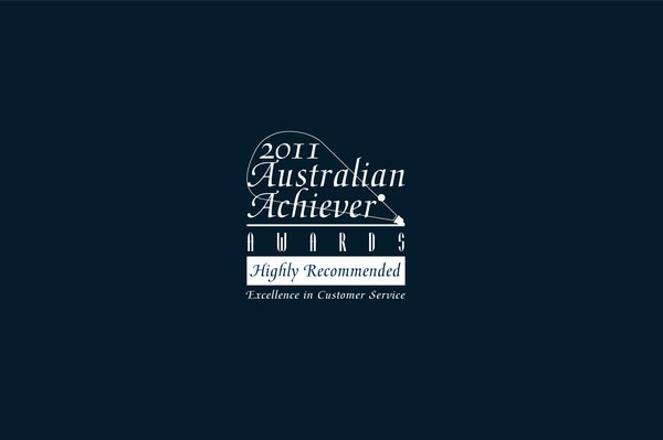 """""""Highly Recommended"""" for Excellence in Customer Service 2011"""