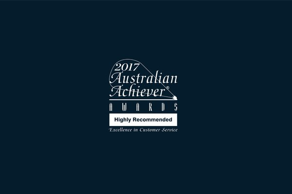 """Highly Recommended"" for Excellence in Customer Service 2017"