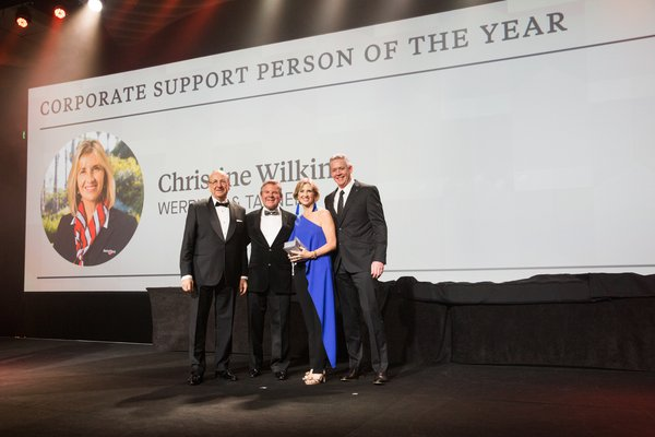 Corporate Support Person of the Year | Winner 2017