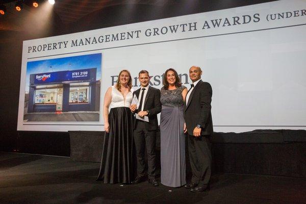 Property Management Growth Award (Under 299 Properties) | Winner 2017