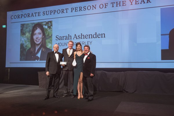 Corporate Support Person of the Year | Winner 2018