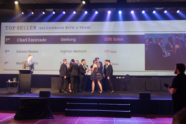 Top Seller (Salesperson with a Team) | 3rd Place 2018